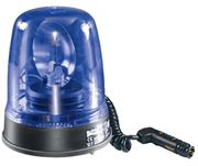 Britax 390 Series R65 Rotator Magnetic Mount 70 Beacon - DIN Blue (12V)