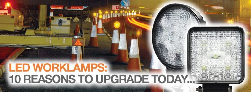 LED worklamps: 10 reasons to upgrade today…