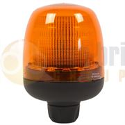 DBG 12V-36V 3 Bolt LED Heavy Duty Low Profile Hazard Warning Industrial Beacon
