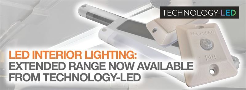 LED interior lighting: Extended Technology-LED range now available