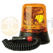 LAP Electrical LAP260A Magnetic Mount AMBER Bulb ROTATOR Beacon R65 12/24V