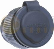 SUTARS 16A Compact Automotive Power Socket (Cigarette Plug) with Splash-Proof Cap 24V - 1624