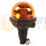 ECCO 300 R65 Rotator Flexible DIN Pole Mount Beacon - Amber