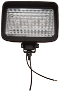 J.W. Speaker 850 Series Rectangular 3-LED Work Flood Light 12V - 850