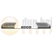 ECCO 12-30186-E 12+ Series Vantage™ 1070mm AMBER/CLEAR 12 Module LED Lightbar with Illuminated Centre R65 12/24V