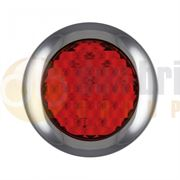 LED Autolamps 145 Series (145mm) Round LED STOP / TAIL Light Fly Lead 12/24V - 145RME