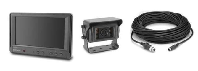 "Brigade BE-870L-000 Backeye® Elite Single Camera 7"" Monitor System"