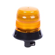 ECCO 400 Series DIN Pole Mount Double Flash Xenon Amber Beacon 12/24V - 582.2D0