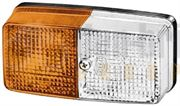 Hella 2BE 003 347-001 Side Light / Indicator Lamp - Amber/White