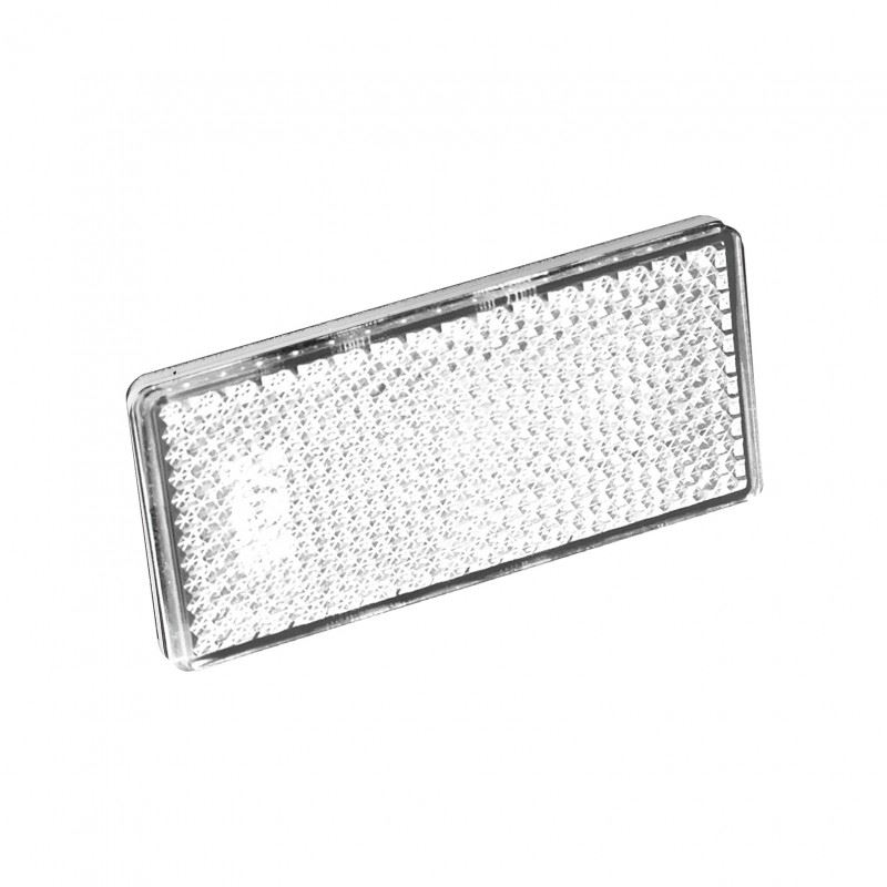 LED Autolamps 7030 Front White Rectangular Reflector (Twin Pack)