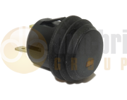 DBG Round 20mm ON/OFF Push Button Switch with Amber LED Indicator - 270.173A