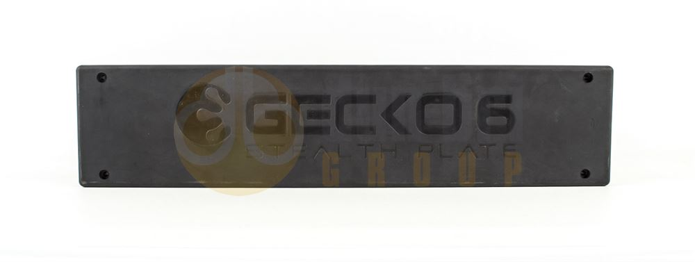 Redtronic GECKO 6 Stealth Plate - Amber