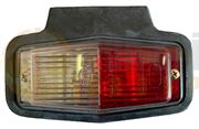 Hella 2PF 001 321-021 BULB REAR MARKER Light with Bracket - Clear/Red