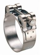 ACE® 80-85mm Zinc Plated Steel T-Bolt Clamp - Pack of 10 - 400.5466