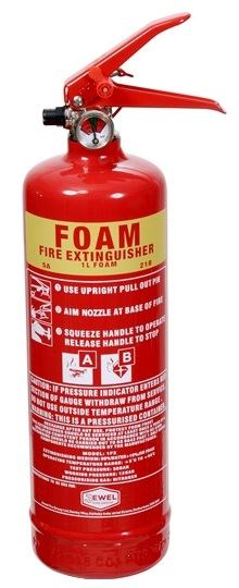 Spray Foam Fire Extinguishers