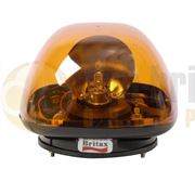 ECCO/Britax B100.00.LB B100 Series Three Bolt AMBER Bulb ROTATOR Beacon R65 12/24V