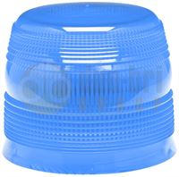 ECCO 910.462 400 Series Replacement LED/Xenon Beacon Lens - Cal Blue