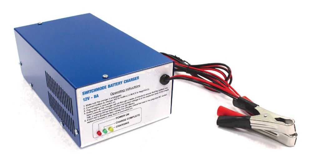 Intelligent Battery Charger 12v 8A